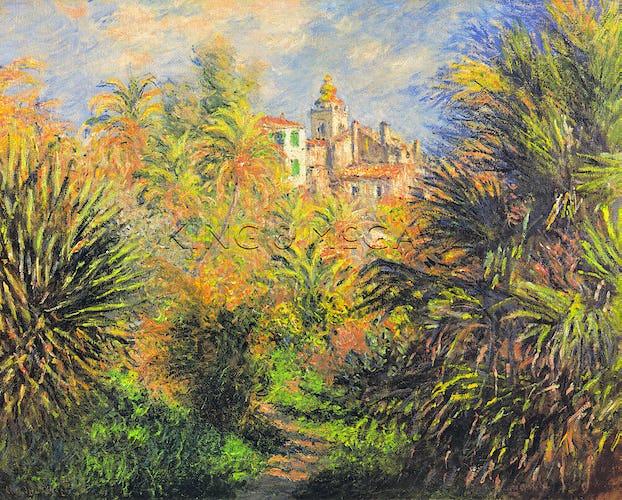 Gardens at Bordighera, 1884