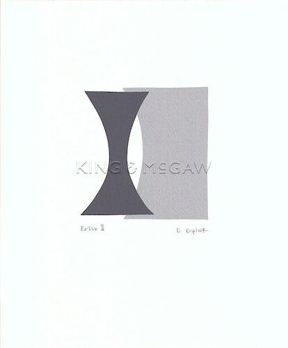 Echo II (serigraph)