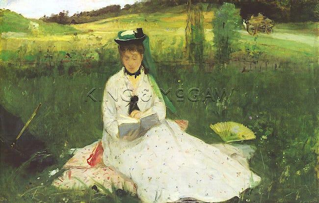 Reading (La lecture), 1873