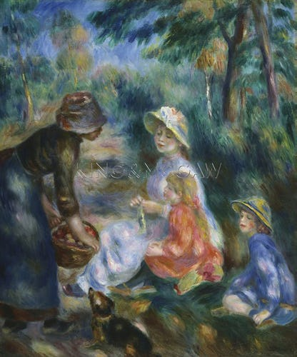The Apple Seller, c.1890
