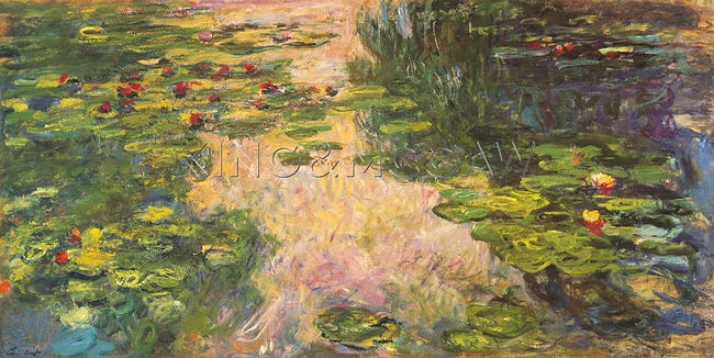 The Water Lily Pond, 1918