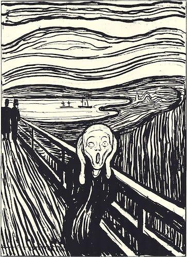 The Scream (silkscreen print)