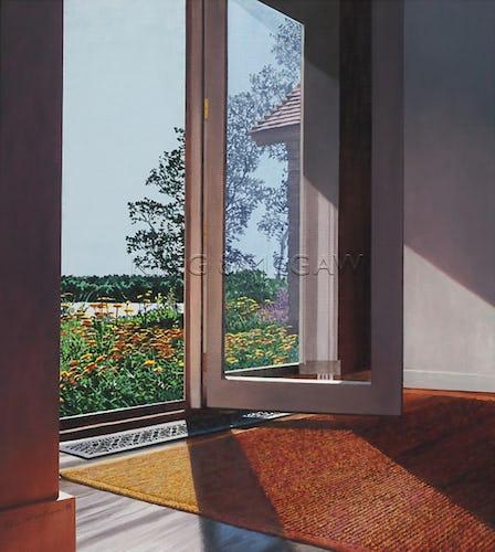 Small Flowered Doorway, 1996