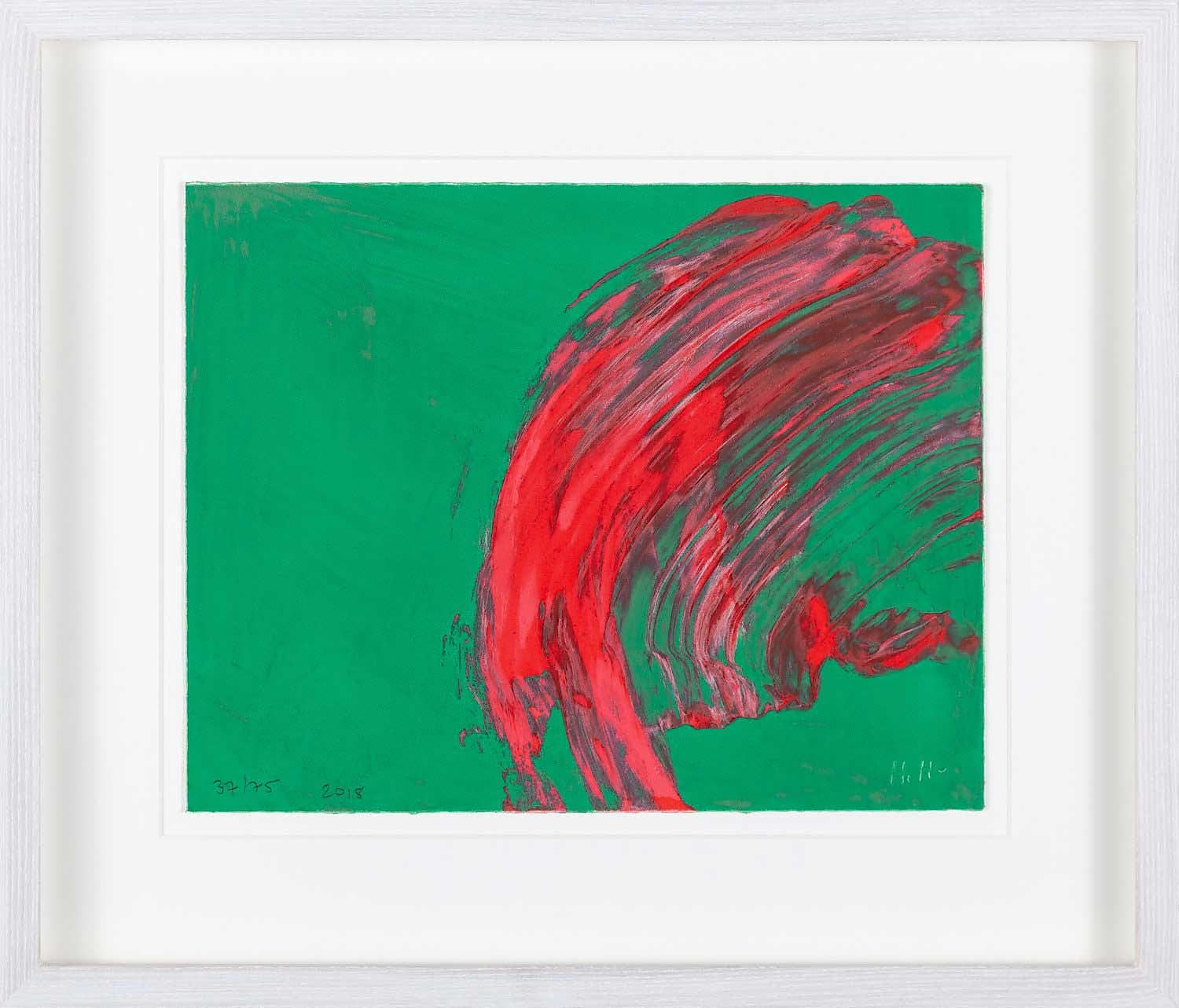 Over to You by Sir Howard Hodgkin