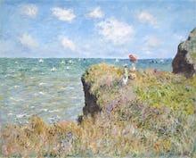 Cliff Walk at Pourville, 1882