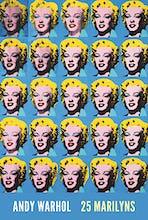 Twenty-Five Colored Marilyns, 1962