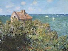 Fisherman's Cottage on the Cliffs at Varengeville,