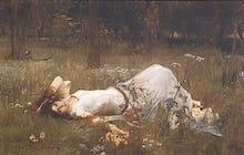 Ophelia, 1st exhibited 1889