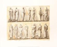 Standing Figures, 1949