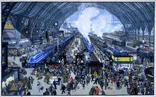 Rail Terminus Scene