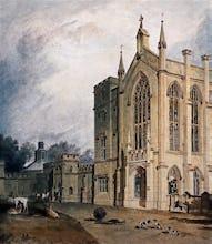 Cassiobury, West Front, c.1807