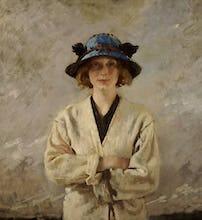 Girl in a Blue Hat, 1912