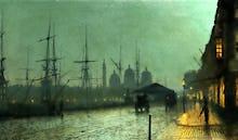 Humber Dockside, Hull, 1882