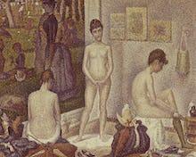 Les Poseuses (The Models), 1888