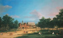 London: The Old Horse Guards and The Banqueting Hall, 1749