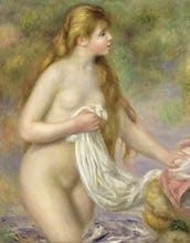 Bather with Long Hair, c.1895