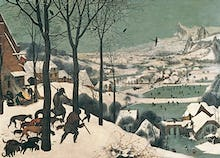 Hunters in the Snow, February 1565