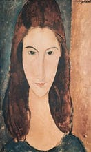 Portrait of a Young Girl (Jeanne Hebuterne)