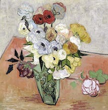 Roses and Anemones, 1890