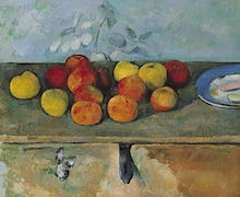 Still Life of Apples and Biscuits, 1880