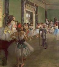 The Dancing Class, c.1873