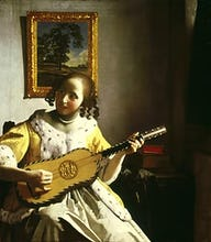 The Guitar Player, c.1672