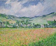 The Poppy Field near Giverny, 1885