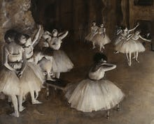 Ballet Rehearsal (detail 2)