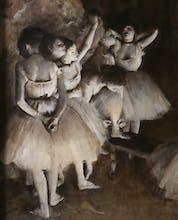 Ballet rehearsal (detail 1)