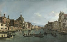 Venice: The Grand Canal with S. Simeone Piccolo