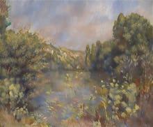 Lakeside Landscape