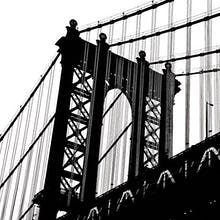Manhattan Bridge Silhouette (detail)