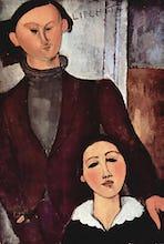 Portrait of Jacques & Berthe Lipchitz