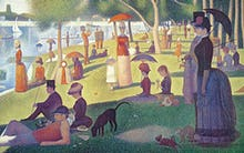 Sunday Afternoon on the Island of Grand Jatte 1864-66