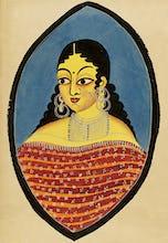 A Bengali courtesan, c.1880