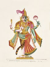 Ardhanari, c.1825