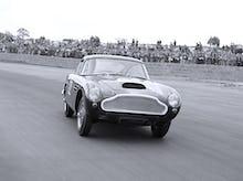 Aston Martin DB6 powerdrift, Silverstone