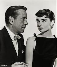 Audrey Hepburn with Humphrey Bogart