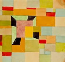 Aufgeteilte Farbvierecke, 1921-38