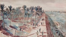 Baghdad - View of the River Tigris