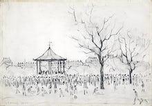 Bandstand, Peel Park, Salford, 1924