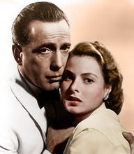 Bogart and Bergman (Casablanca)