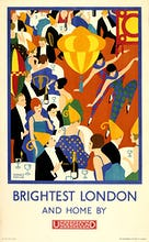 Brightest London and home by Underground, 1924