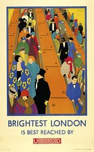 Brightest London is best reached by Underground, 1924
