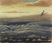Clouds and Spitfires