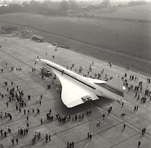 Concorde roll out 4