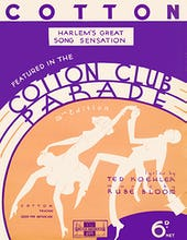 Cotton (Cotton Club Parade)
