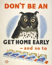 Don't be an owl, 1943