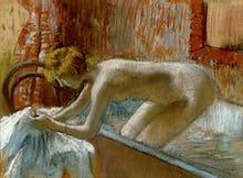 Femme Sortant du Bain, c.1886-88