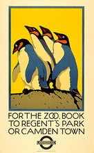 For the Zoo, book to Regent's Park, 1921